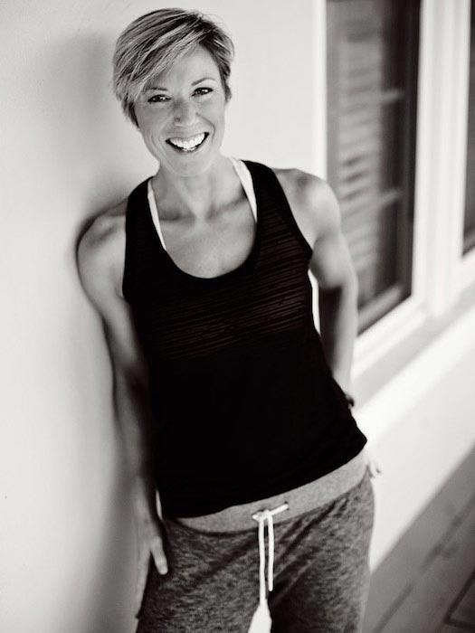 Fitness trainer Erin Oprea