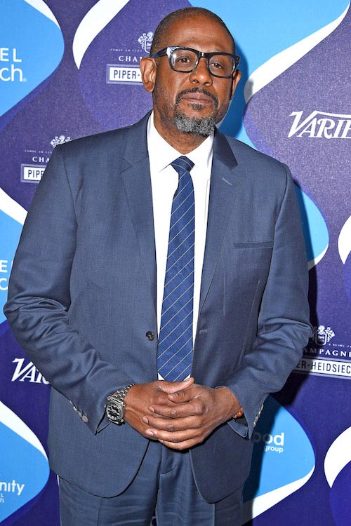 Forest Whitaker at the 2nd Annual unite4:humanity presented by ALCATEL ONETOUCH in February 2015
