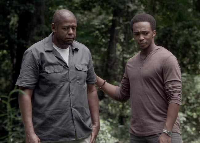 Forest Whitaker in a still from Repentance (2014)