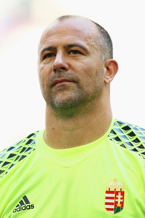 Gabor Kiraly prior to a match between Hungary and Germany on June 4, 2016 in Gelsenkirchen, Germany