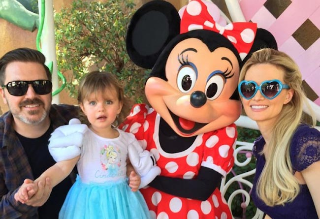 Holly Madison with her family