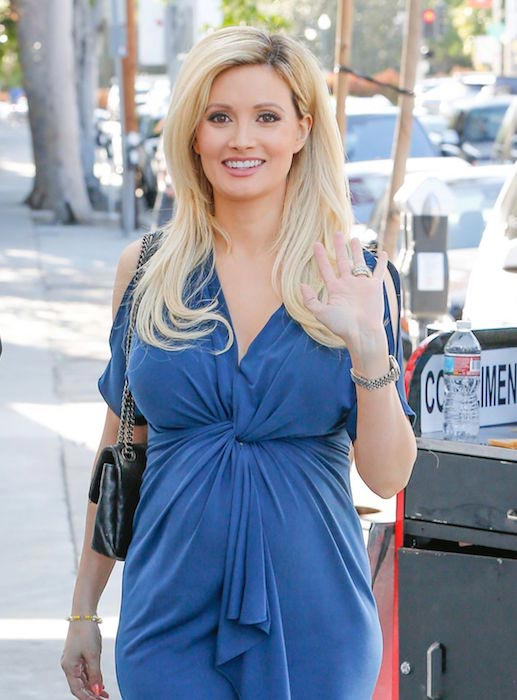 Holly Madison out and about in West Hollywood on March 24, 2016