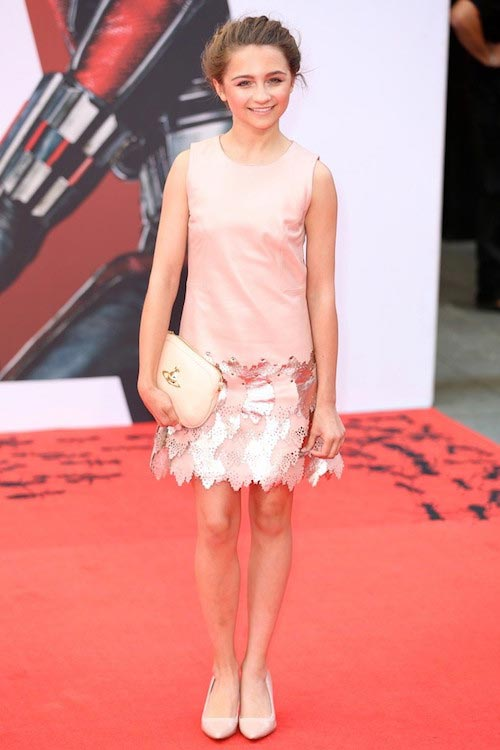 Isobelle Molloy at UK premiere of Ant-Man