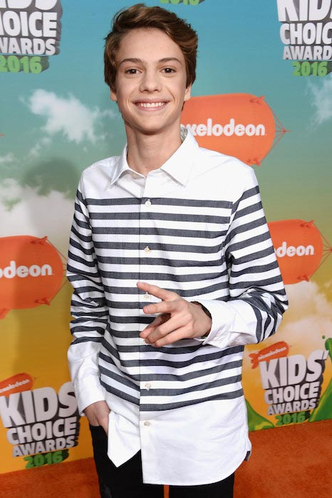 Jace Norman at Nickelodeon's 2016 Kids Choice Awards