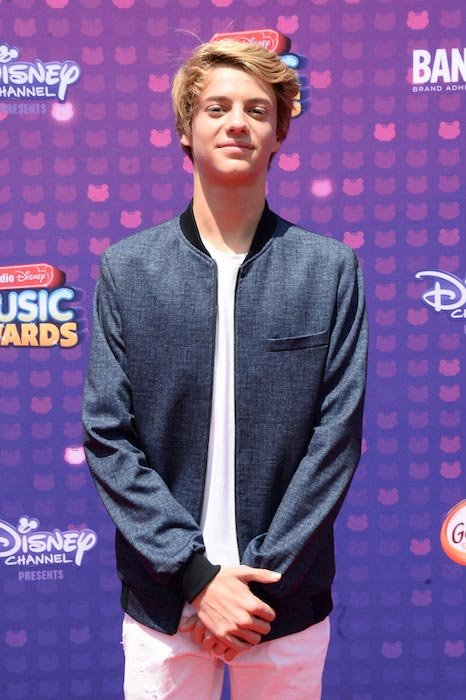 Jace Norman at the 2016 Radio Disney Music Awards