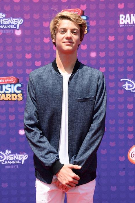 Jace Norman at the 2016 Radio Disney Music Awards