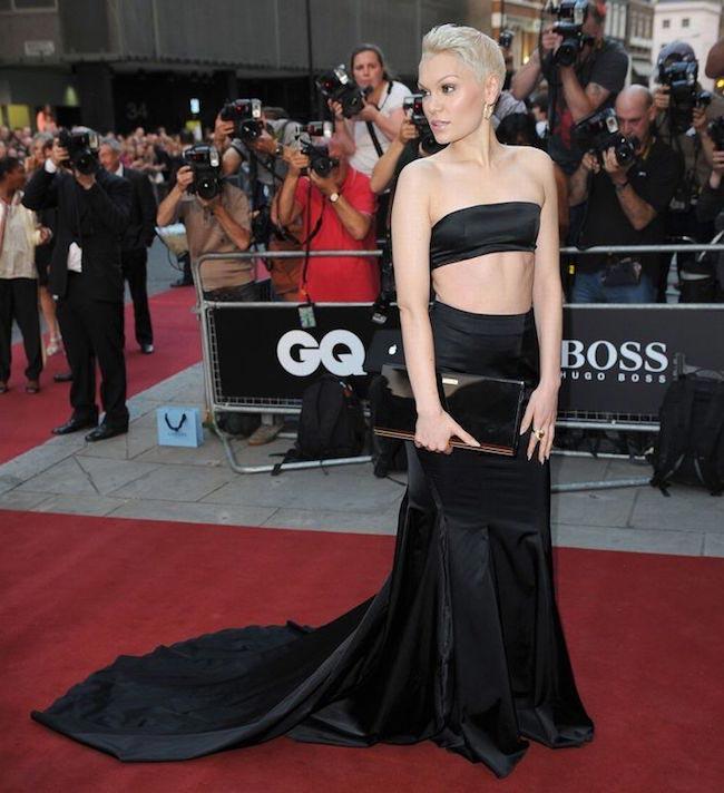 Jessie J red carpet look
