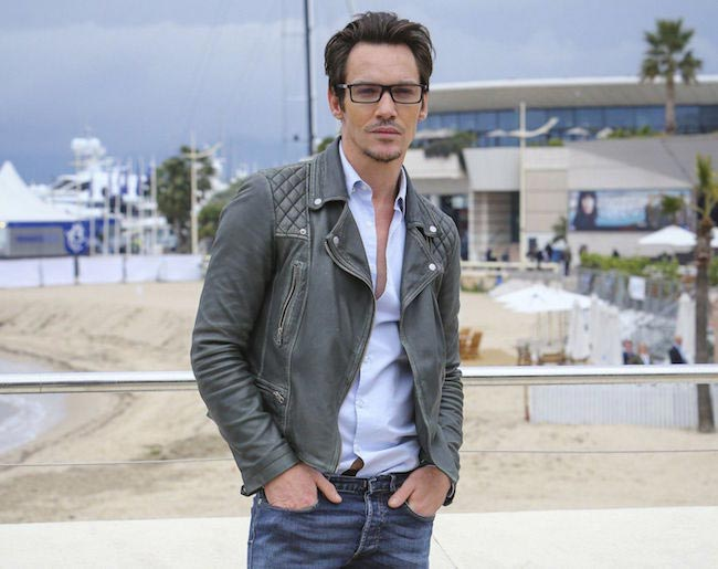 Jonathan Rhys Meyers at Roots MIPTV Photocall on April 5, 2016 in Cannes, France