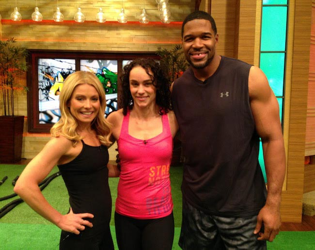 Kelly and Michael's Fitness Challenge - CrossFit Workout - LIVE with Kelly and Michael