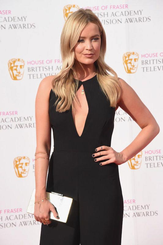 Laura Whitmore at 2016 British Academy Television Awards