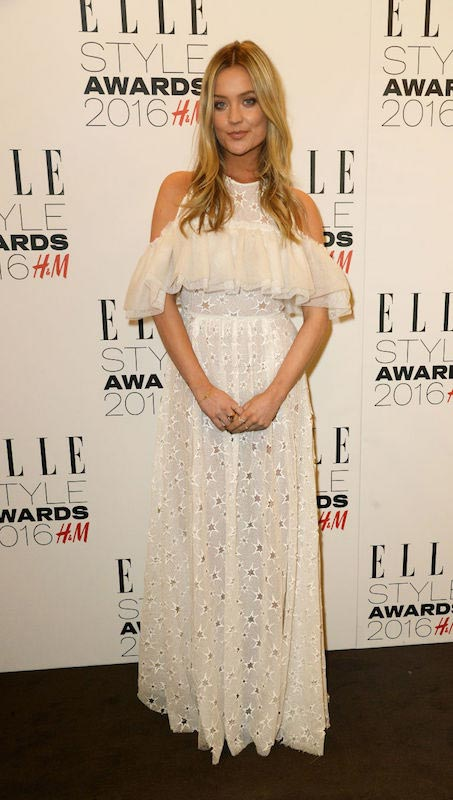 Laura Whitmore at the Elle Style Awards in February 2016