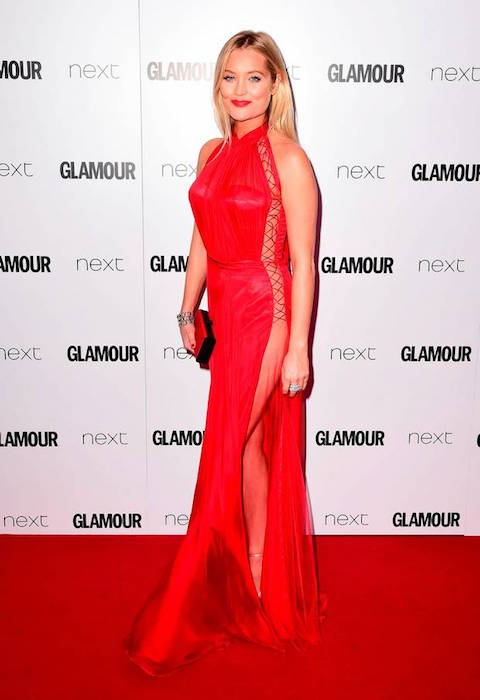 Laura Whitmore at the Glamour Women of the Year Awards 2016
