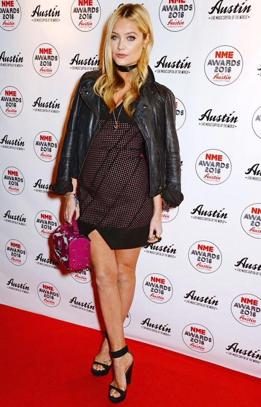 Laura Whitmore at the NME Awards on February 17, 2016