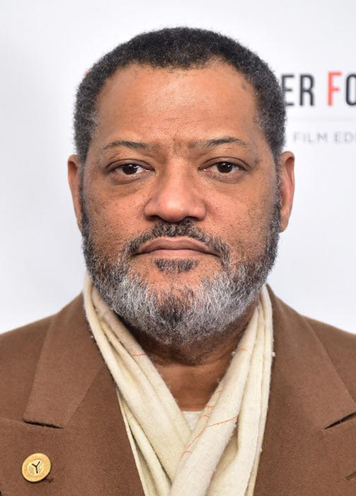 Laurence Fishburne at Arthur Miller - One Night 100 Years Benefit at Lyceum Theatre on January 25, 2016