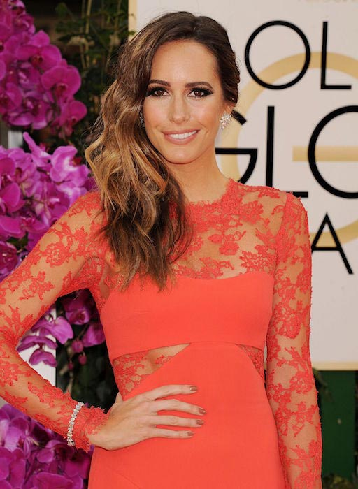 Louise Roe at 71st Annual Golden Globe Awards