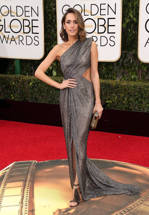 Louise Roe at Golden GLobe Awards 2016
