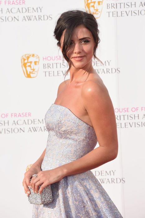 Lucy Mecklenburgh at British Academy Television Awards 2016