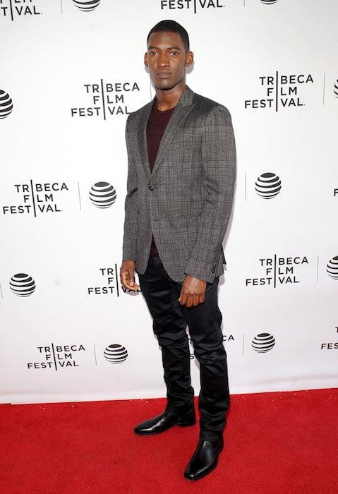 Malachi Kirby at Tribeca Film Festival
