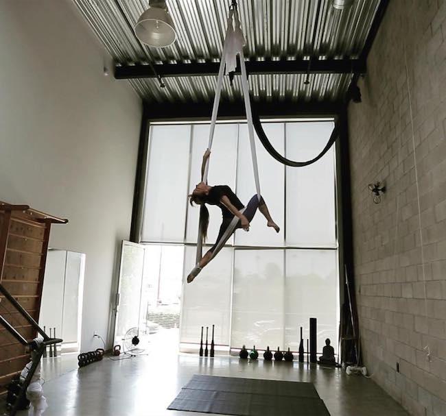 Mark Wildman, Chris Pine's trainer's studio