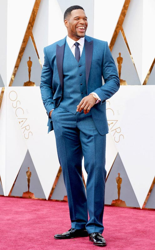 Michael Strahan during Oscars 2016
