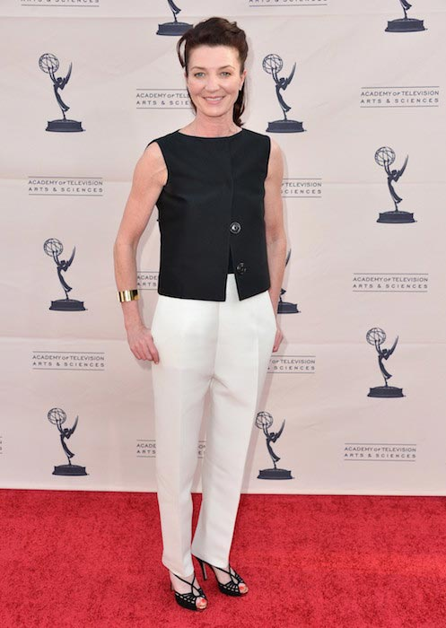 Michelle Fairley at The Academy of Television Arts & Sciences' Presents An Evening With Game of Thrones on March 19, 2013