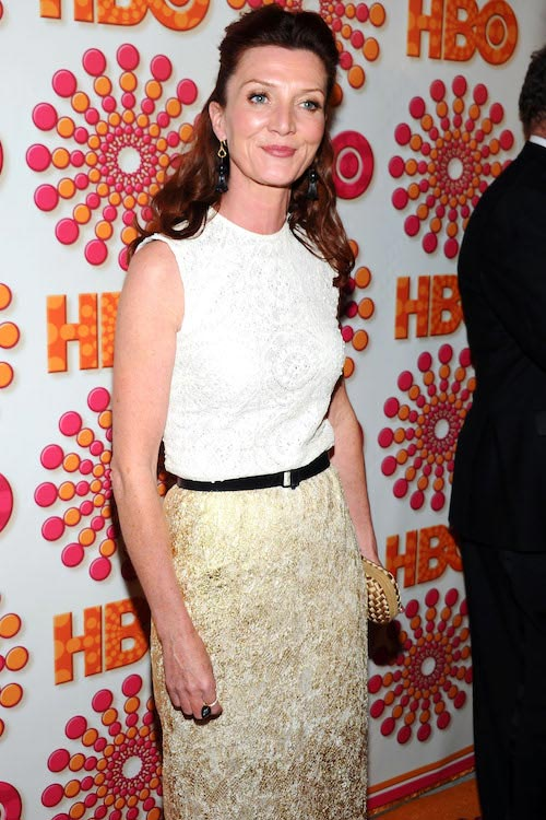 Michelle Fairley looks stunning