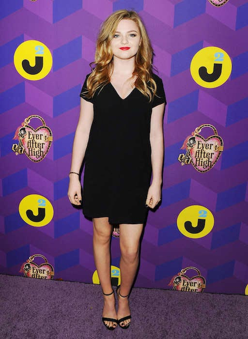 Morgan Lily at Just Jared's Way to Wonderland Party in August 2015