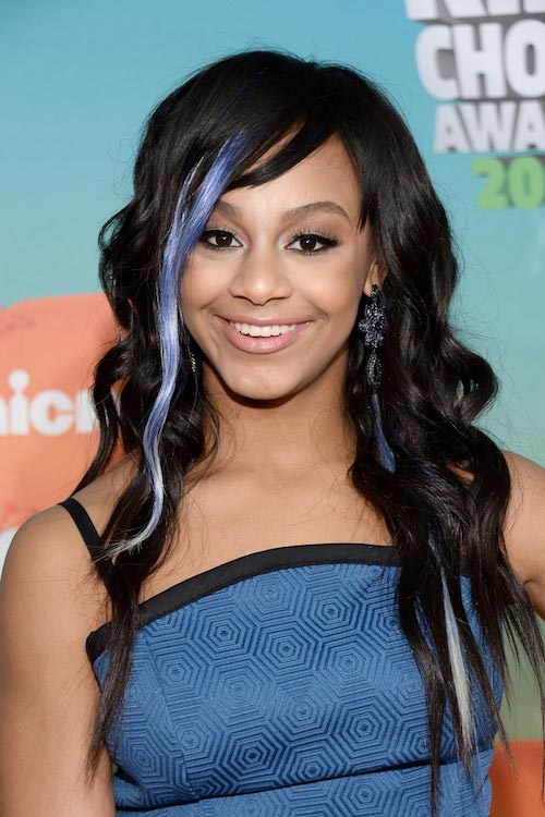 Nia Sioux Frazier at Nickelodeon's 2016 Kids Choice Awards