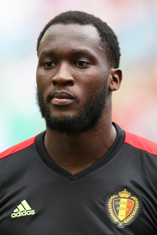 Romelu Lukaku prior to a EURO 2016 match between Republic of Ireland and Belgium on June 18, 2016 in Bordeaux, France