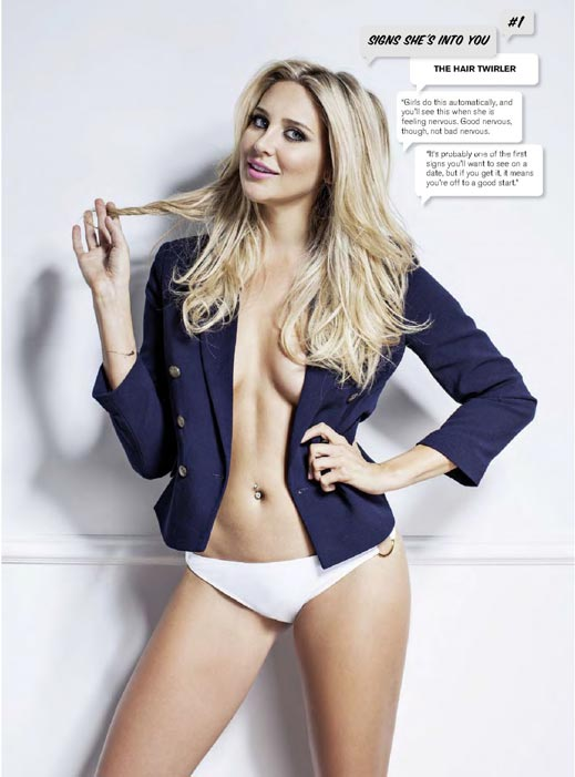 Stephanie Pratt in FHM Magazine's May 2015 Issue