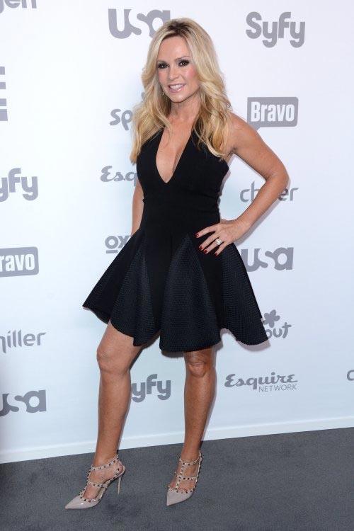 Tamra Barney at the Bravo 2015 Upfronts