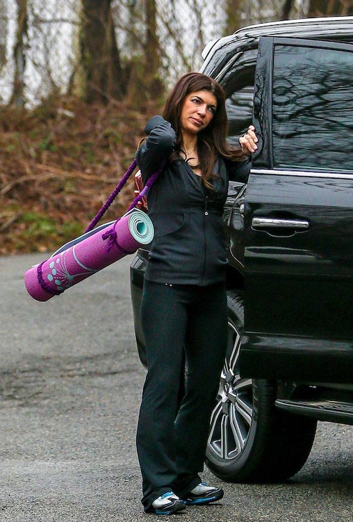 Teresa Giudice after a workout