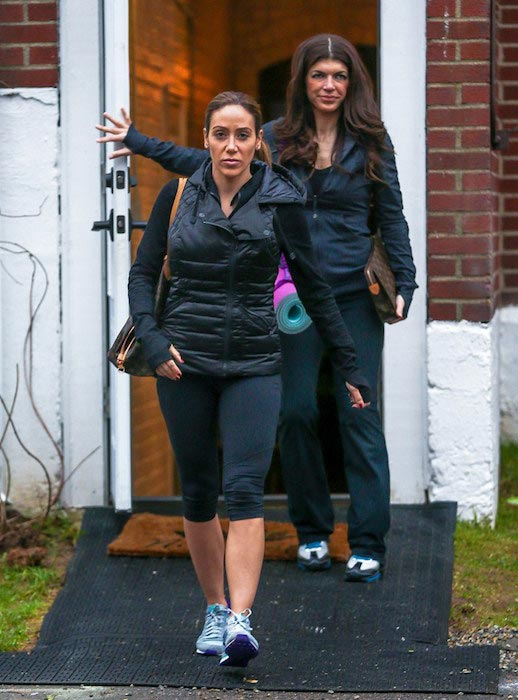 Teresa Giudice works out with sister-in-law Melissa Gorga one week after being released from prison