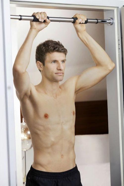 Thomas Muller shirtless body