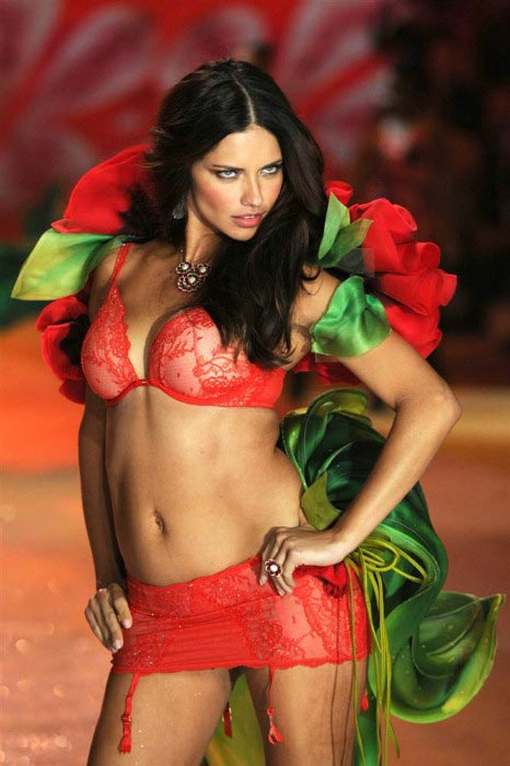 Adriana Lima as MTV hot woman