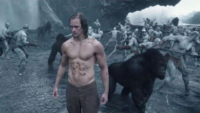 "Alexander Skarsgard in a still from ""The Legend of Tarzan"""