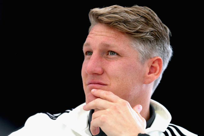 Bastian Schweinsteiger during a media day on June 2, 2016 in Ascona Switzerland