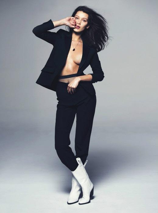 Bella Hadid hot for GQ