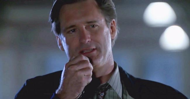 "Bill Pullman played the President of the United States in a 2016 movie ""Independence Day: Resurgence"""
