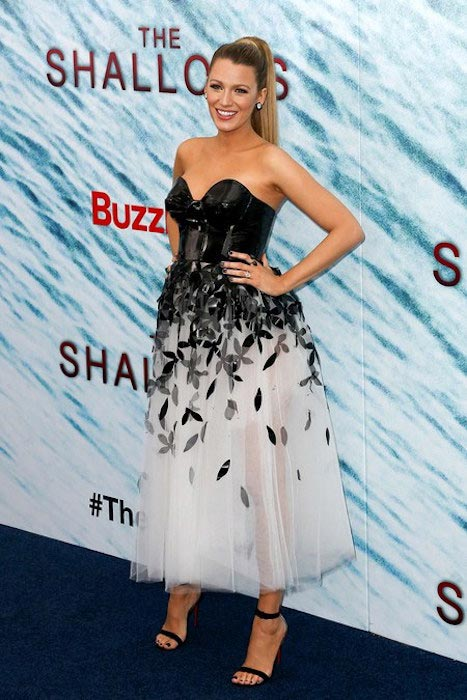 "Blake Lively at ""The Shallows"" premiere in New York"