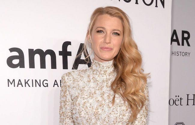 Blake Lively at 2016 amfAR New York Gala