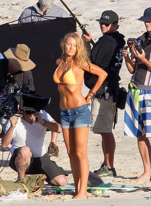"Blake Lively in bikini on the set of ""The Shallows"" in New South Wales"