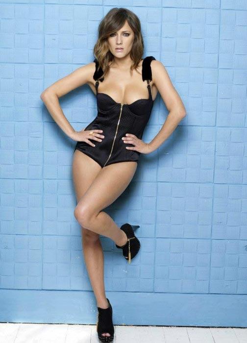 Caroline Flack hot TV presenter