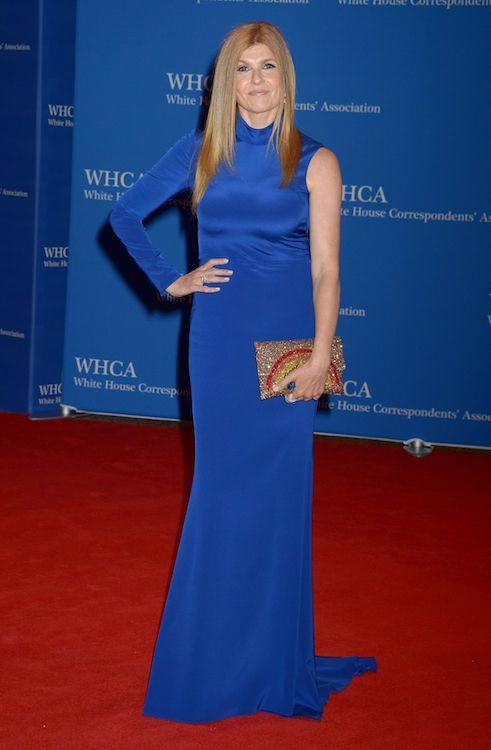 Connie Britton at White House Correspondents' Dinner on April 30, 2016