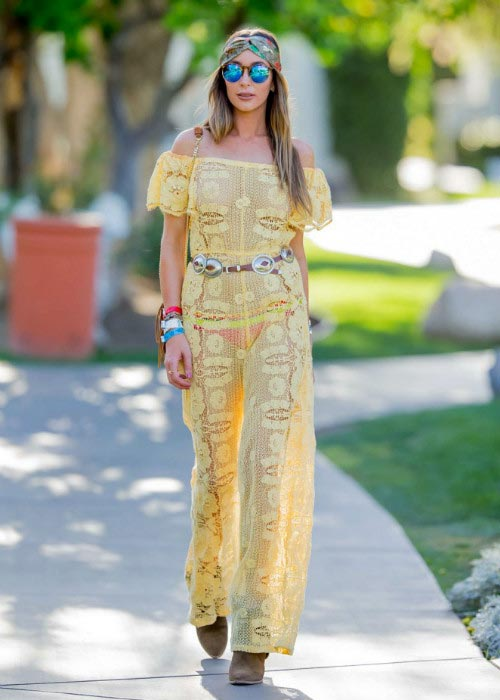Courtney Sixx at Coachella 2016