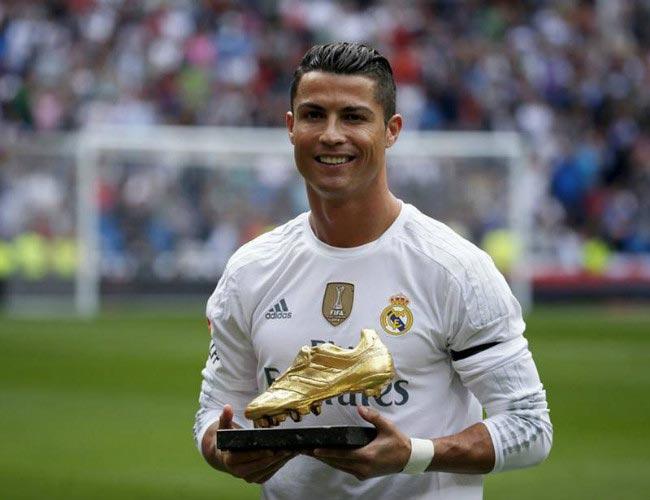 Cristiano Ronaldo - Forbes 2016 Highest Earnings