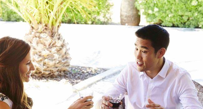 Dalton Wong with Kate Faithfull-Williams, co-author of Feel Good Plan