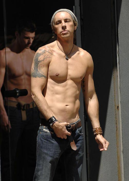 Dax Shepard shirtless body