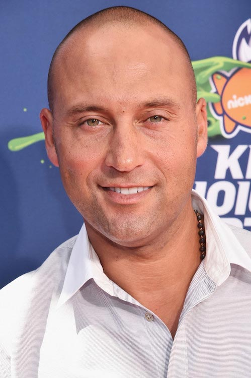 Derek Jeter at the Nickelodeon Kids' Choice Sports Awards 2015