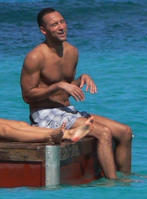 Derek Jeter shirtless body